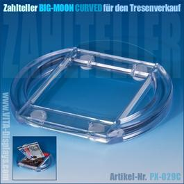 Zahlteller / Cash-Tray BIG-MOON (Curved)