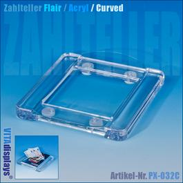 Zahlteller FLAIR Acryl Curved