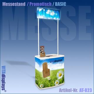 Messestand BASIC / mobiler Promo-Counter