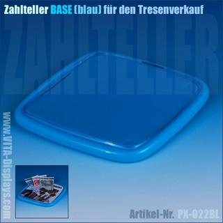 Zahlteller / Cash-Tray BASE / blau